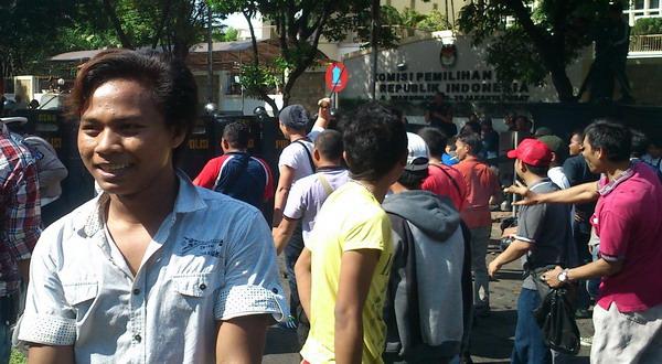 882 Polisi Ikut Simulasi Pengamanan di Gedung KPU