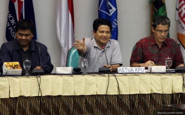 Komisioner KPU (foto: Okezone)