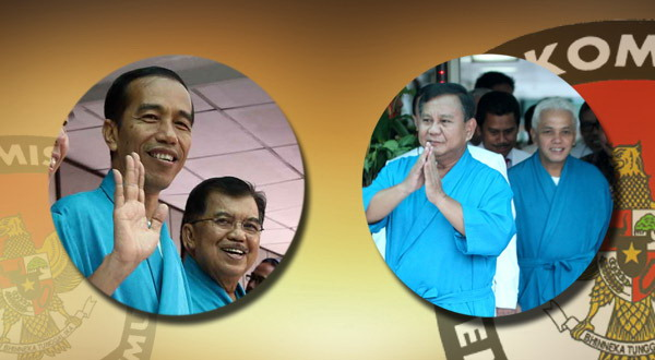 Prabowo Dinilai Tegas, Jokowi Bijaksana