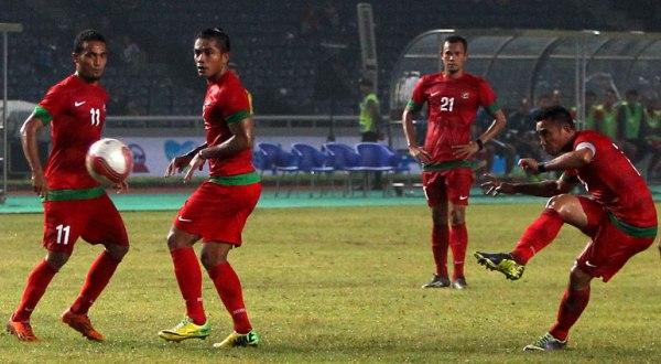 Indonesia turun lima peringkat dalam rilis baru FIFA (Foto: SINDO)