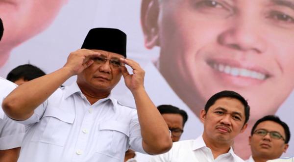 Ketika Prabowo Subianto Menangis