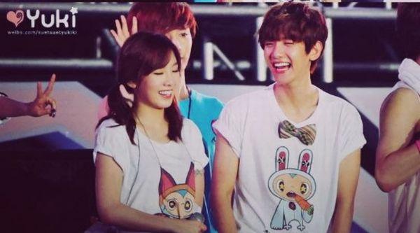 taeyeon baekhyun dating photo
