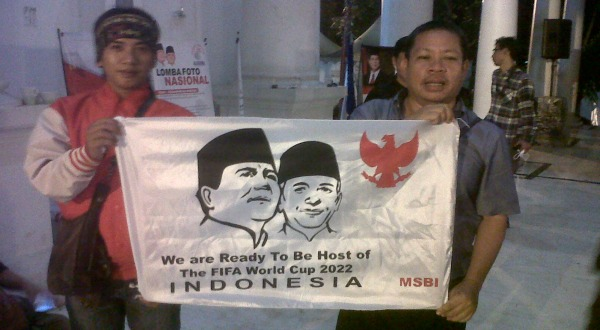 Bendera Prabowo-Hatta Bakal Berkibar di Brasil