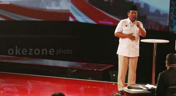 Prabowo: Tak Perlu Ditanggapi, Biar Rakyat yang Nilai