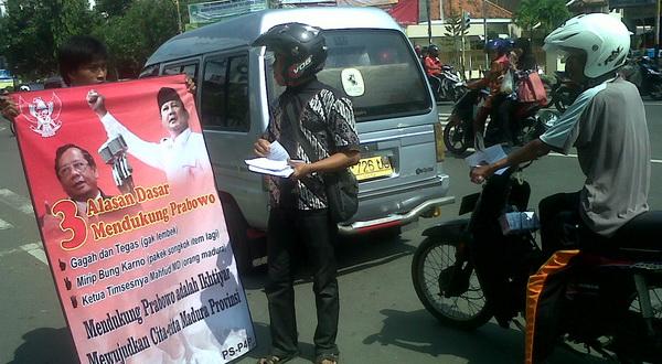Ada Mahfud MD Alasan Warga Madura Pilih Prabowo-Hatta