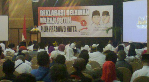 Kubu Prabowo-Hatta Ingin Tumbangkan Mitos Jateng