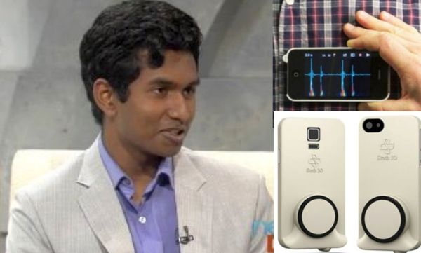 Woowww....Remaja 15 Tahun Ini Buat Aplikasi Stetoskop Digital