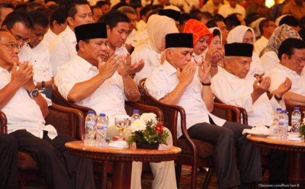 Masyarakat Adat Lampung Optimistis Prabowo-Hatta Menangi Pilpres