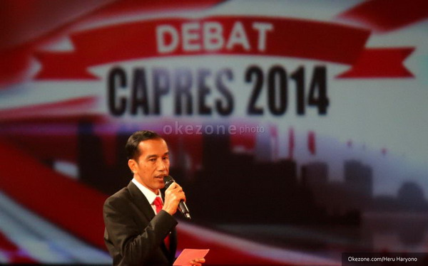 Pertanyaan Jokowi dalam Debat Capres Hanya Selevel Anak Sekolah
