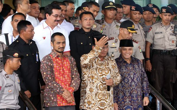 Prabowo Subianto Janji Perkuat KPK