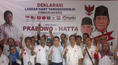 Laskar HT Targetkan 70% Kemenangan Prabowo-Hatta di Maluku