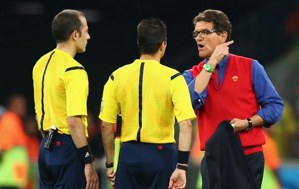 Internasional Piala Dunia  - Fabio Capello: Rusia Tersingkir Karena Sinar Laser!