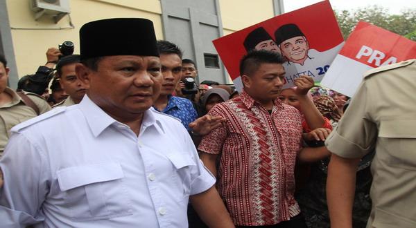 Prabowo: Kita Seharusnya Jadi Tuan di Negeri Sendiri!