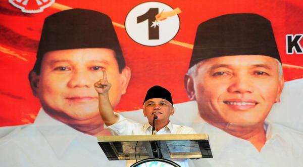 Prabowo-Hatta Tak Lagi Merayap, Tapi Meroket