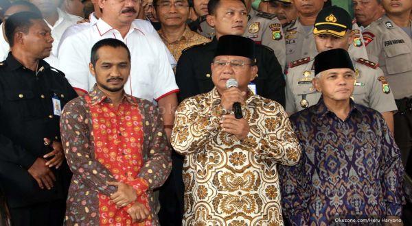Prabowo: Kami Punya Tekad Kuat Memecahkan Persoalan Bangsa