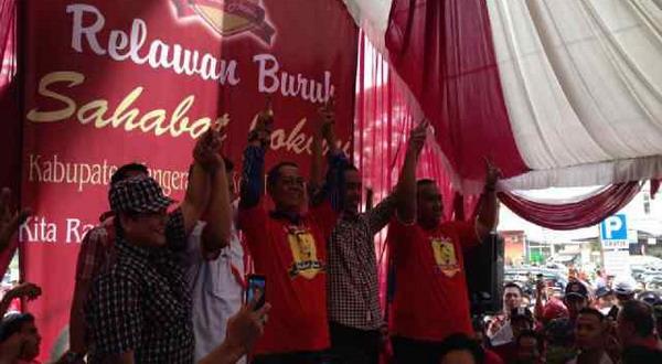 Jokowi Berharap Dukungan Buruh