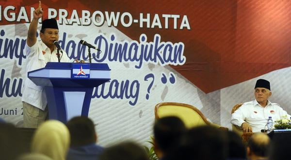 Mahasiswa Aliansi Samber Nyawa Siap Kawal Suara Prabowo-Hatta