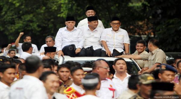 93% Swing Voters Dukung Prabowo-Hatta