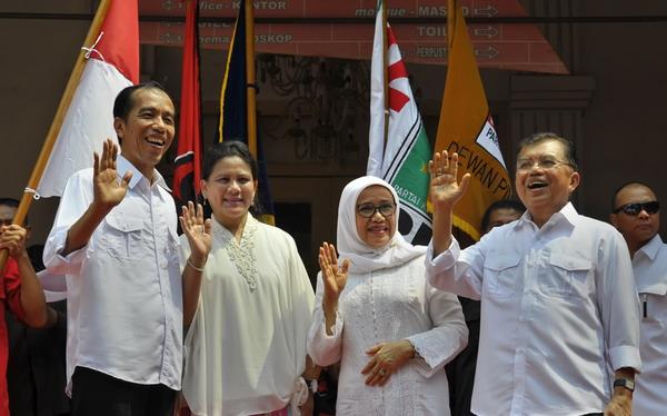 Jokowi-JK Sudah Tercoblos di Surat Suara Pemilih Luar Negeri
