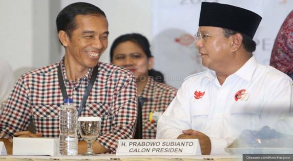 Survei IDM: Prabowo-Hatta Melejit, Jokowi-JK Merosot