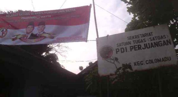 Satgas PDIP di Karanganyar Pilih Dukung Prabowo-Hatta