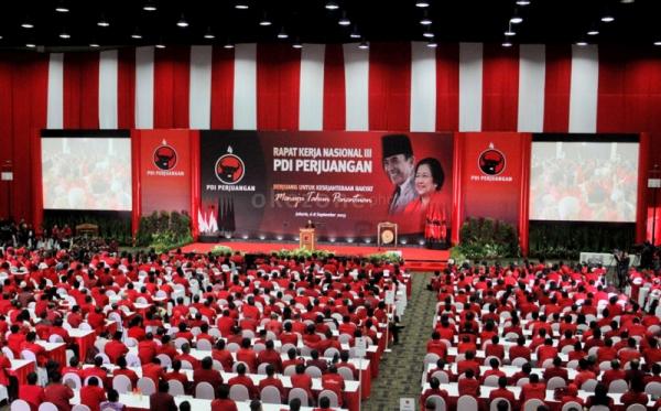Massa Organisasi Sayap PDIP Geruduk Kantor TV One