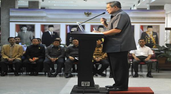 SBY: Tindak Tegas Pelaku Kerusuhan!