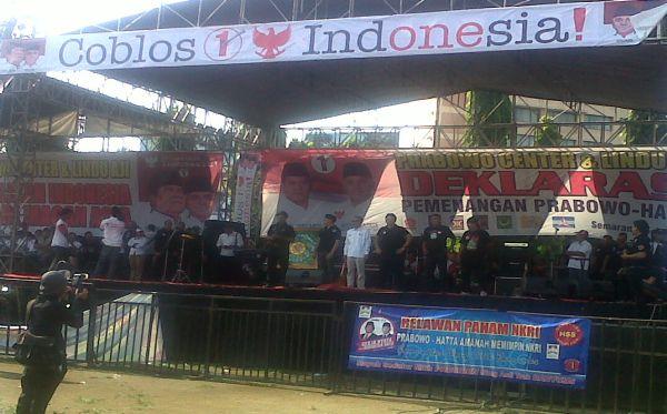 1.000 Anggota Lindu Aji Siap Menangkan Prabowo-Hatta di Jateng
