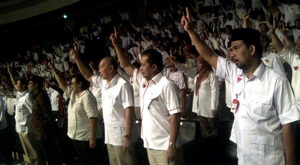Timses Prabowo-Hatta di Jabar Gelar Doa Bersama di Bandung