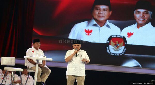 Masa Tenang, Prabowo-Hata Serukan Kedamaian