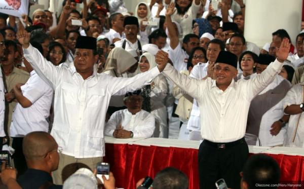 Pengangguran Galang Dukungan untuk Prabowo