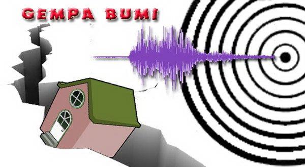 Banten Diguncang Gempa 5,6 SR