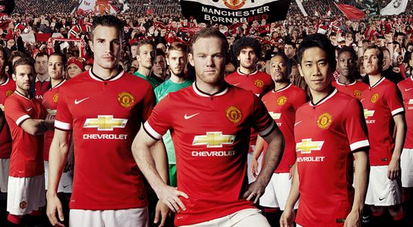 Nike, masih menjadi sponsor Manchester United musim 2014-2015 (Foto: ist)