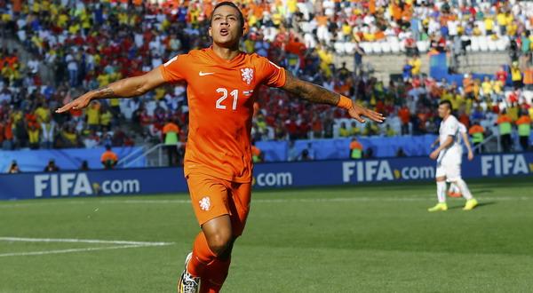 Memphis Depay diharapkan Phillip Cocu tetap bersama PSV Eindhoven semusim lagi (Foto: REUTERS)