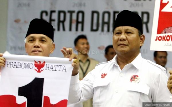 Tim Merah Putih Jatim Instruksikan Relawan Prabowo-Hatta Begadang