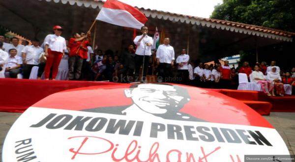 Pendukung Jokowi Siapkan Pawai Kemenangan