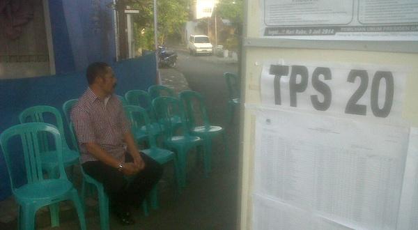 Jalan Kaki ke TPS, Rudy Ajak Warga Tak Golput