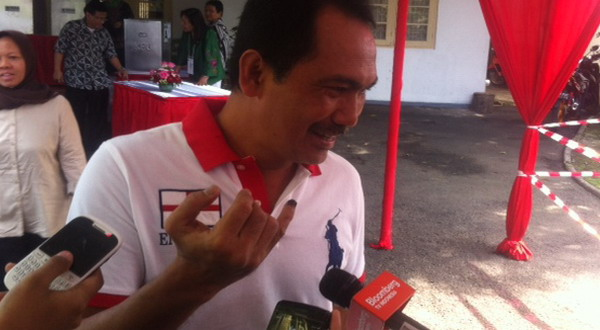 Butuh Sosok Tegas, Rizal Mallarangeng Pilih Nomor 1