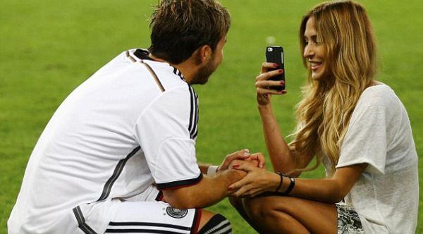 Mengenal Cinta Mario Gotze, Pahlawan Jerman di Piala Dunia