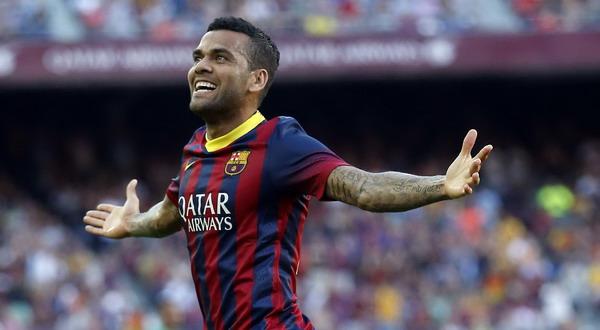 Situs Bola - Dani Alves Ingin  Menyelesaikan Kontrak Nya Di Barca