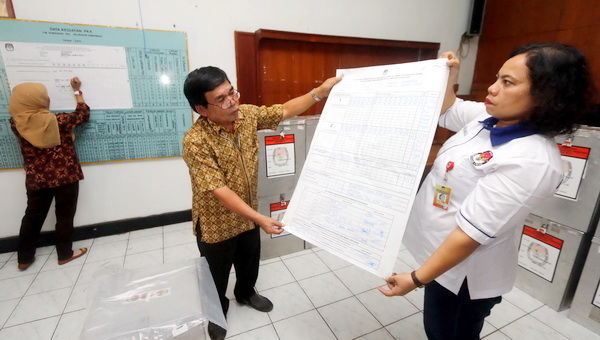 272 Polisi Kawal Penghitungan Suara Ulang di Madura