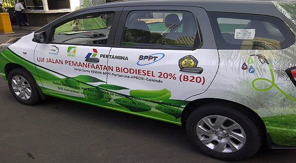 Biodiesel 20% pada kendaraan siap diujicobakan (Foto: Dani/Okezone)