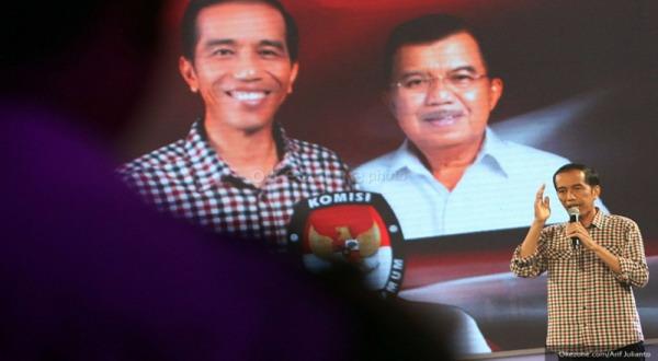 Di Lampung, Jokowi-JK Tak Terbendung