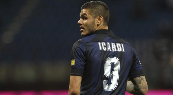 Jersey nomor 9 milik Mauro Emanuel Icardi Rivero paling laris dibeli para Interisti (Foto: ist)