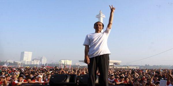 Jokowi Larang Pendukungnya Turun ke Jalan pada 22 Juli