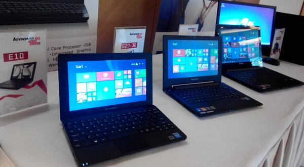 Lenovo Rilis 3 Notebook Baru dengan Intel Bay Trail