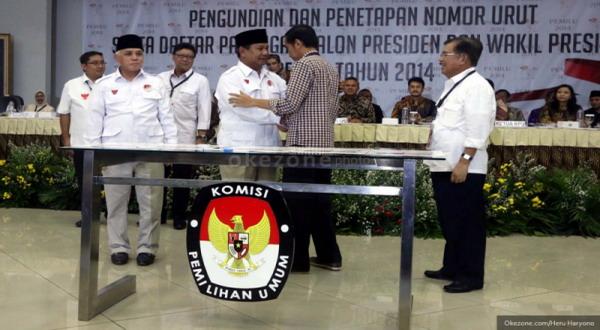 Prabowo dan Jokowi Harus Hormati Putusan KPU