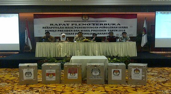 KPU DKI Siap Ladeni Gugatan Prabowo