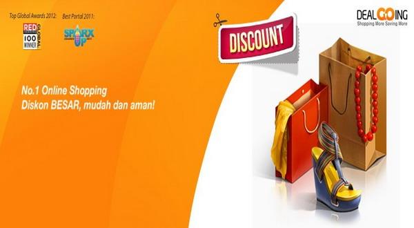 Online Shop DealGoing.com Tawarkan Diskon Besar Libur Lebaran