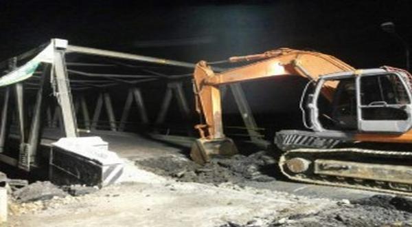 perbaikan jembatan Comal. (Ilustrasi foto: Kementerian PU)